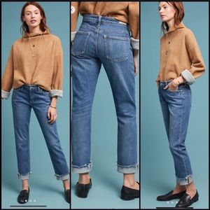 Anthro NWT Pilcro Mid-Rise Slim Boyfriend Jeans 30